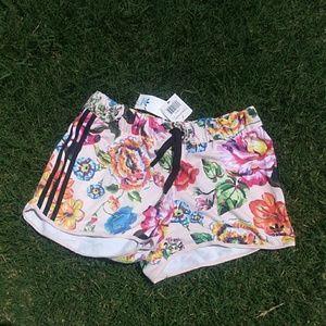 Womens M Adidas Shorts Floralita Shorts